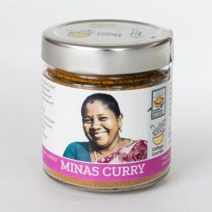 Minas Curry - Bio - 80g im Glas