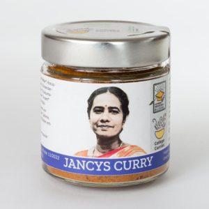 Jancys Curry - Bio - 80g im Glas