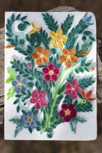 Ein Papierkunstwerk von Helan - Blumenwiese
